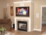 Living Room Recessed Television