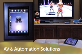 AV audio video and home automation solutions