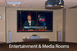 Entertainment and media rooms